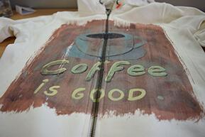 Direct to garment printen blouse op maat