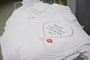 Direct to garment printen t-shirt op maat
