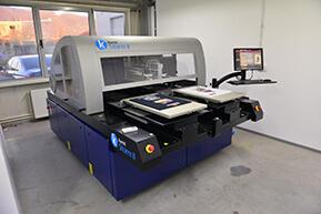 Kornit II direct to garment bedrukkingsmachine 2