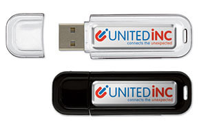 Stick USB 4 GB cu doming