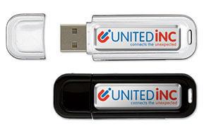 USB-geheugenstick aangepast met behulp van doming