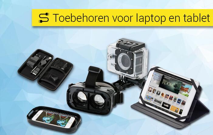 Toebehoren voor laptop en tablet