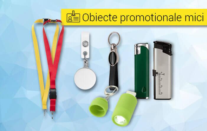 Obiecte promotionale mici