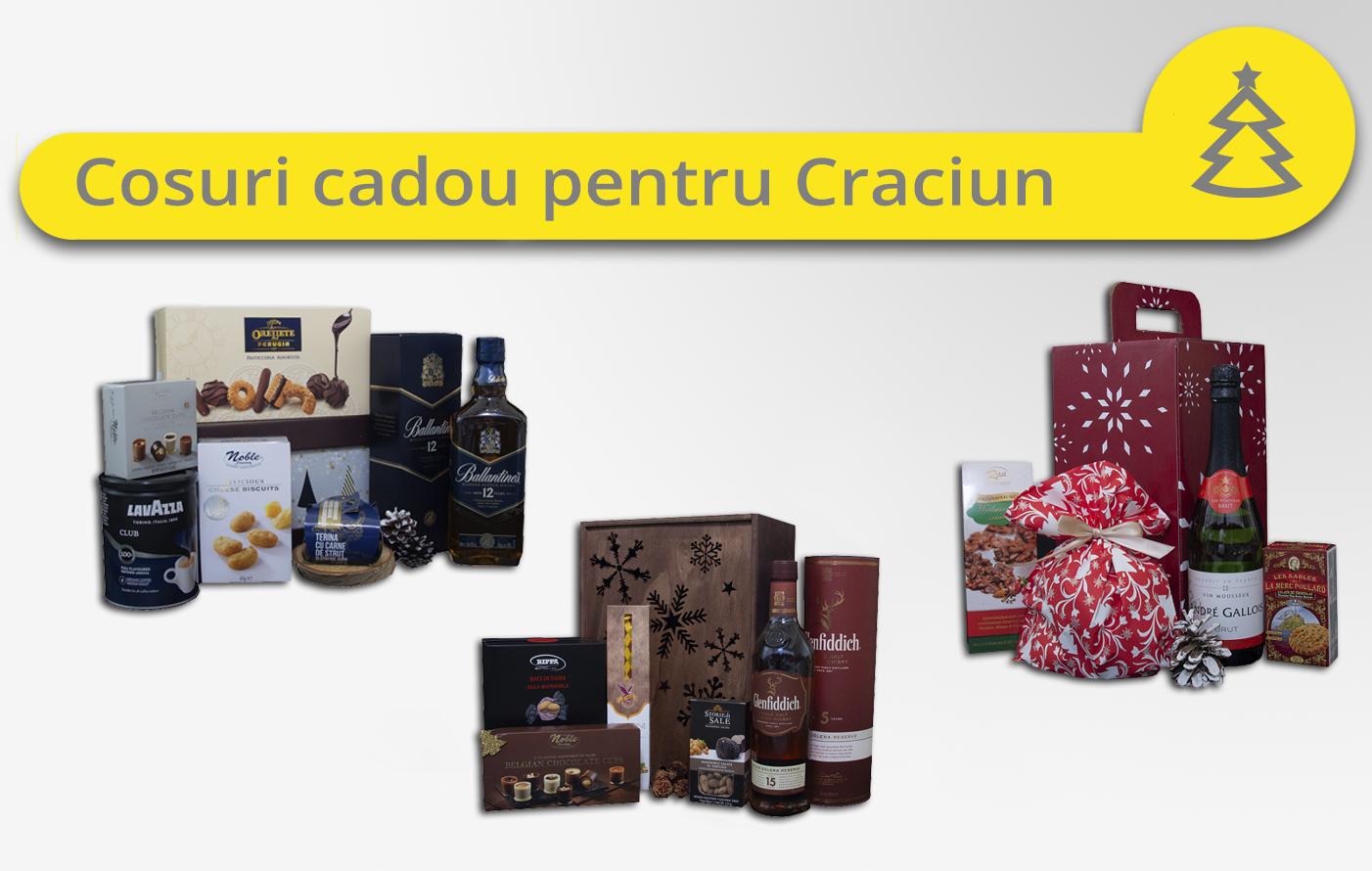 Cosuri cadou Craciun 2018