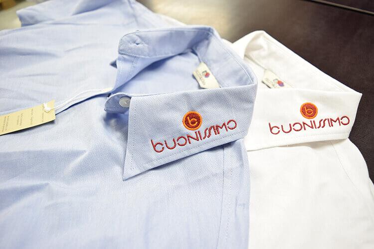 Camasi personalizate prin broderie Samdam