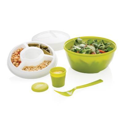 Cutie rotunda pentru salata la pachet Salad2go