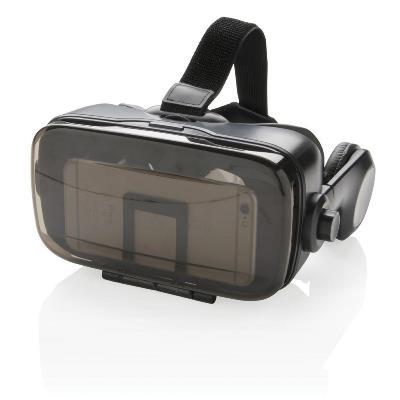 VR bril met geintegreerde hoofdtelefoon