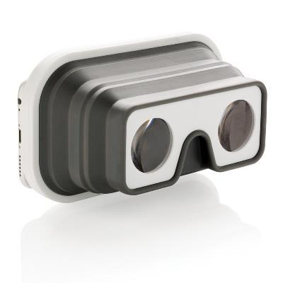 Opvouwbare silicone VR bril