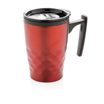 Cana termica pentru cafea cu motive geometrice