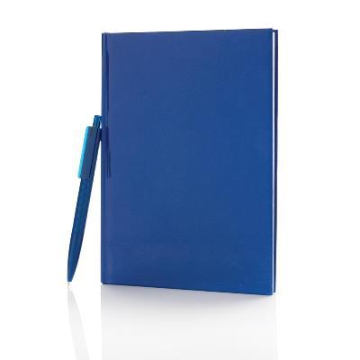 Standaard hardcover A5 notitieboek met X3 pen