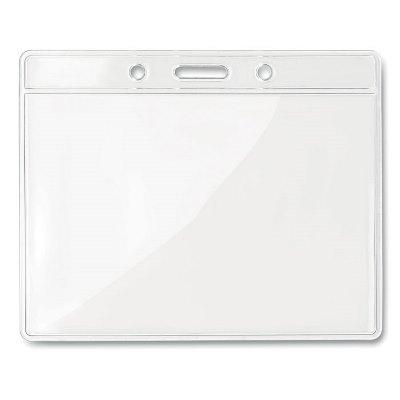 Husa ecuson transparenta 10x8 cm