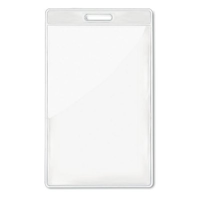 Husa ecuson transparenta 7.5x12.5cm