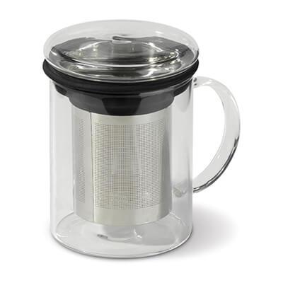 Pahar cu infuzor pentru ceai 300ml