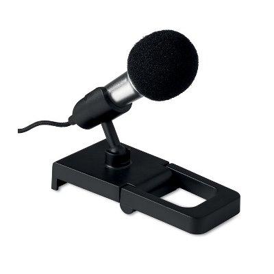 Mini microfon cu suport