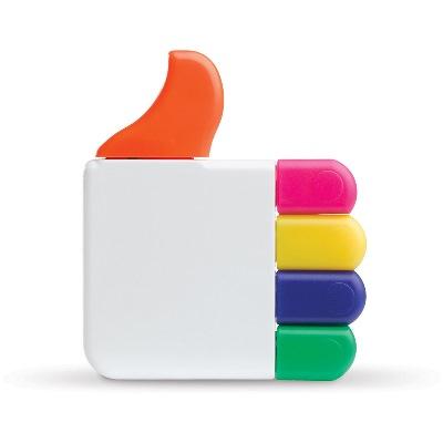 Evidentiator multicolor in forma de Like