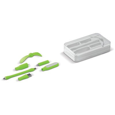 Set lanterna si ventilator Plug-n-Play