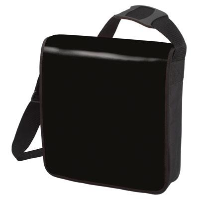 Flapbag zwart Modul 1 hoog formaat van Halfar