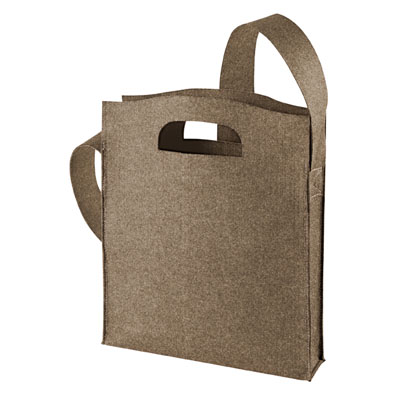 shoppertas bruin-sprinkle modern classic van Halfar