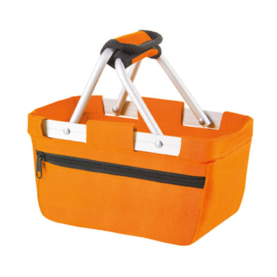 shoppertas oranje basket mini van Halfar
