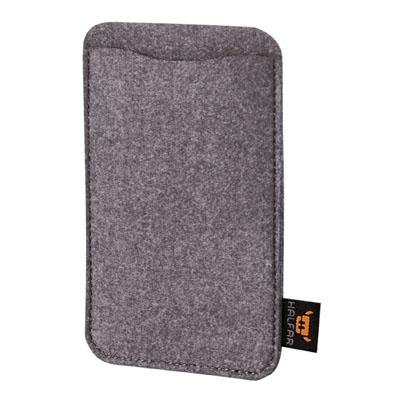 Smart phone cover anthracite Modul 1 L van Halfar