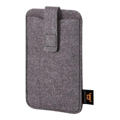 Smart phone cover anthracite Modul 2 L van Halfar