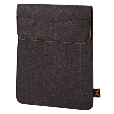 Tablet sleeve bruin sprinkle Modul 1 van Halfar