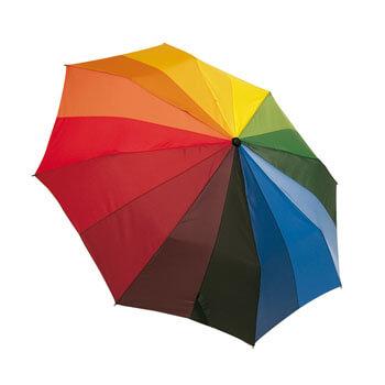 Umbrela multicolora curcubeu