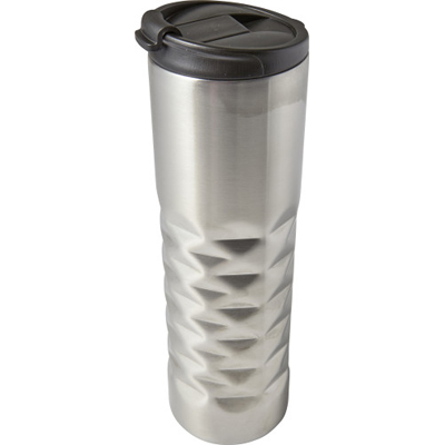 RVS dubbelwandige thermosbeker (460 ml) diamant