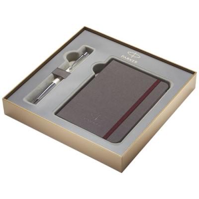 Parker geschenkverpakking met notitieboek