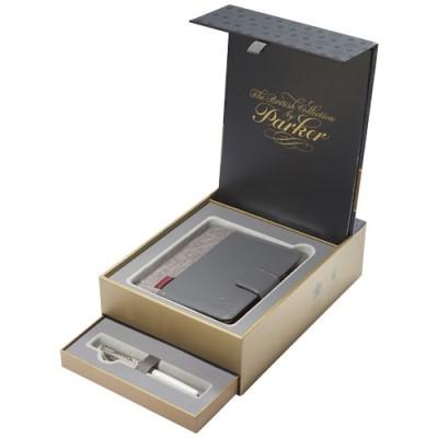 Parker Geschenkverpakking met Premium notitieboek