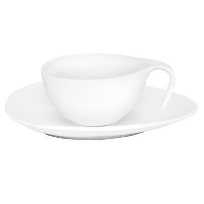 Set de ceasca de cafea cu farfurie Swan