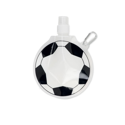 Sticla pliabila sub forma de minge de fotbal