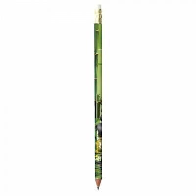 Creion ecologic cu radiera si print digital