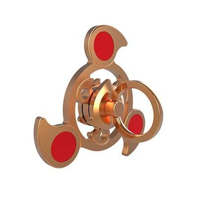 Jucarie antistres din inox Tri Fidget Spinner