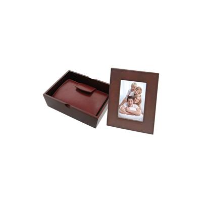 Set cadou cu rama foto si etui pix 428027