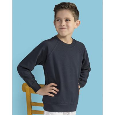 Bluza copii cu fleece periat in interior
