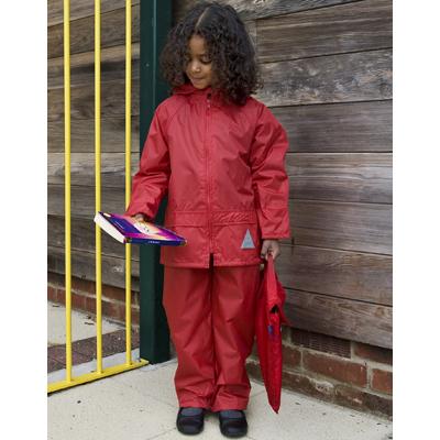 Set geaca de ploaie cu pantaloni pentru copii