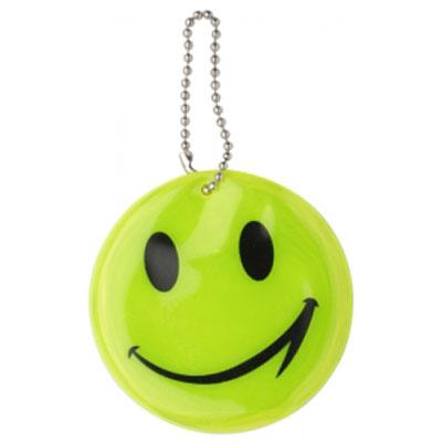Breloc reflectorizant Smiley