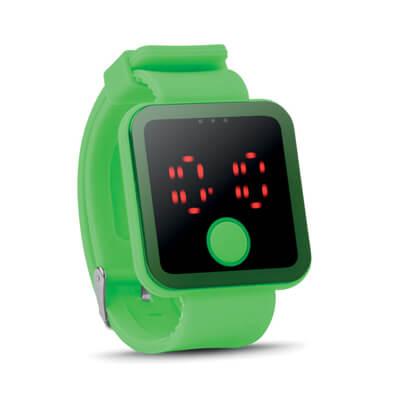Siliconen LED horloge