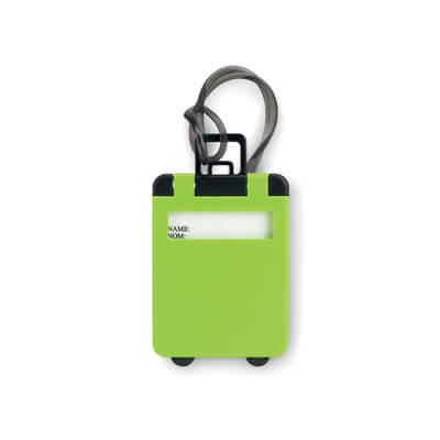 Kunststof bagagelabel