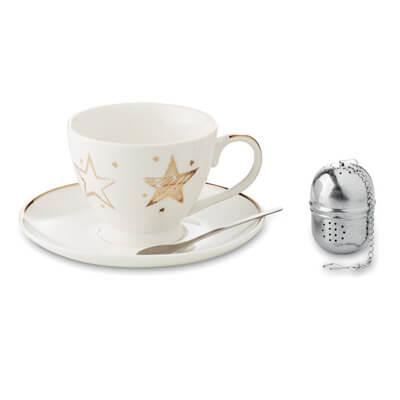 Set ceai cu infuzor si ceasca