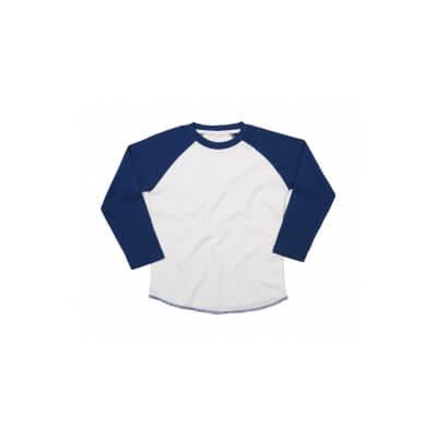 Tricou cu maneca lunga pentru copii Mantis Supersoft Baseball