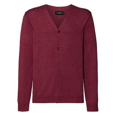 Cardigan tricotat cu guler in V pentru barbati