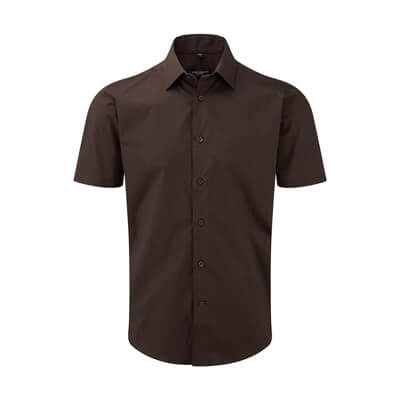 Tailored Shortsleeved Shirt