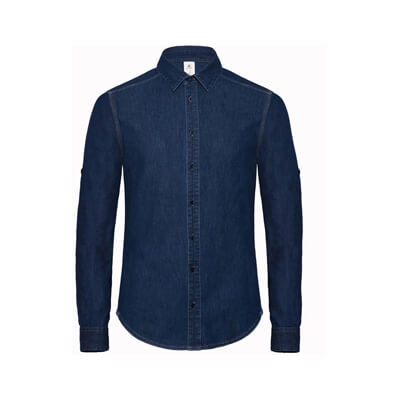 Denim Shirt LS - SMD85