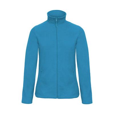 Jacheta din micro polar cu fermoar pentru femei