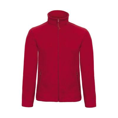 Jacheta micro polar cu fermoar pentru barbati