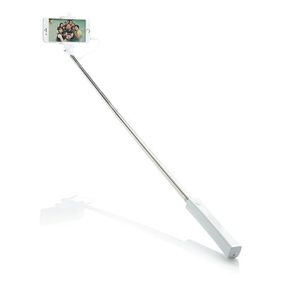 Opvouwbare selfie stick met kabel