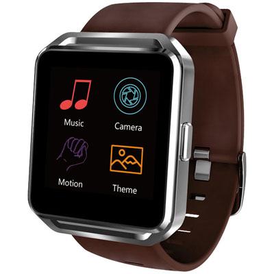 Smartwatch SW17 cu curea din silicon