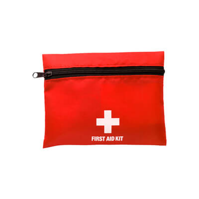 Husa din nylon cu kit pentru primul ajutor